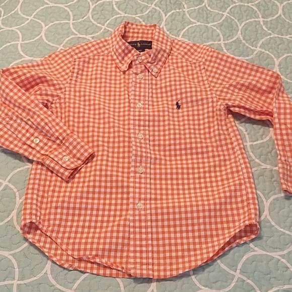 Ralph lauren shirt 4t Boys Ralph Lauren. Like new!